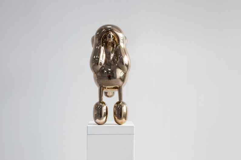 Beautiful Tomorrow (polished bronze), 2015 by Joseph Klibansky