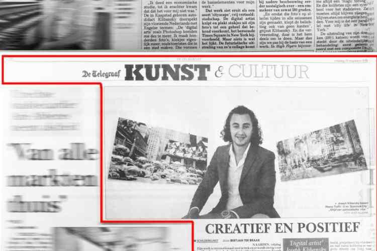 De Telegraaf - Positive and Creative - Arts & Culture