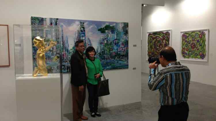 Exhibiting at Art Stage Singapore 2013