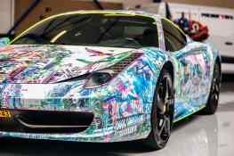 Art Car (Ferrari 458 Italia)