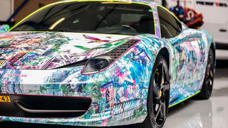 Art Car (Ferrari 458 Italia)