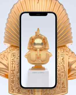 """Do you want a new phone background? 📱 We made a high resolution render of my new sculpture """"Valley of the Kings"""" 🖼 I can post it in my stories later today so you can screenshot it and set as a background ?🔥.#background #backgroundart"""