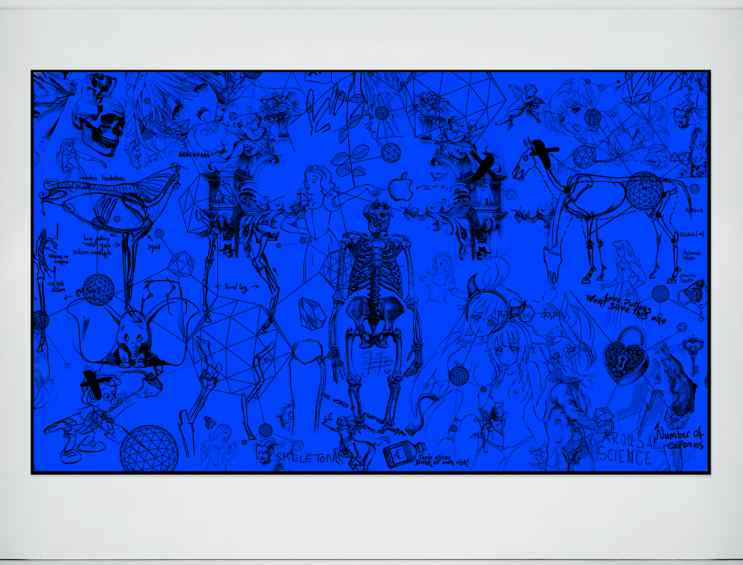 Love Potions (blue), 2016 by Joseph Klibansky