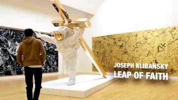 "Joseph Klibansky on ""Leap of Faith"" at Museum de Fundatie"