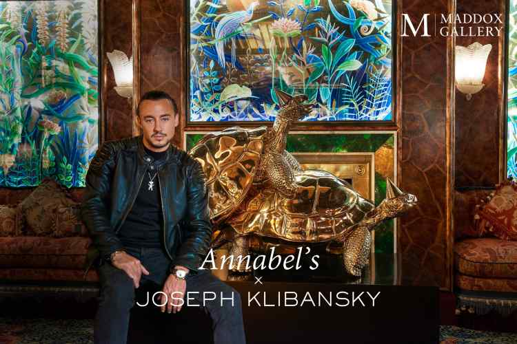 Annabel's Mayfair London shows works by Joseph Klibansky
