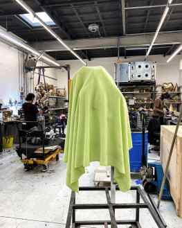 Everyone likes a little game right..? So here is a fun one, the person that can guess which of my sculptures is under this cloth gets a special signed poster from my collection.(Obviously if multiple people have the same answer, two people will be chosen)I will show the back side of this picture and reveal what sculpture it is this Friday at 6pm gmt+1