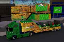 """Next to the Heineken #F1 stage I also had the honor to design the huge truck that will be used for the """"drivers parade"""" I can't wait for the Show to begin 🏁 #heinekenf1"""