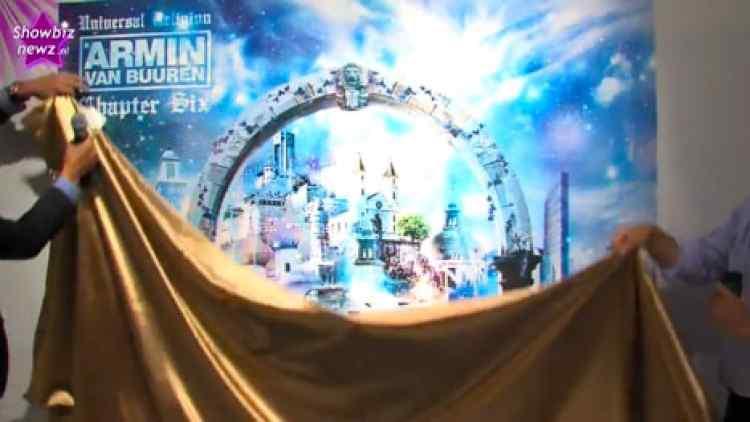 Showbiznewz.nl - Armin van Buuren onthult albumcover door Joseph Klibansky