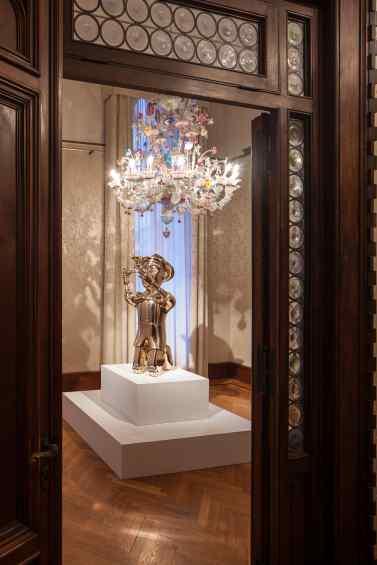 Reflections of Truth (polished bronze), 2012 by Joseph Klibansky