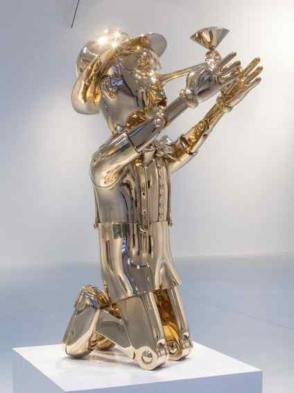 Reflections of Truth (polished bronze), 2012 by Joseph Klibansky