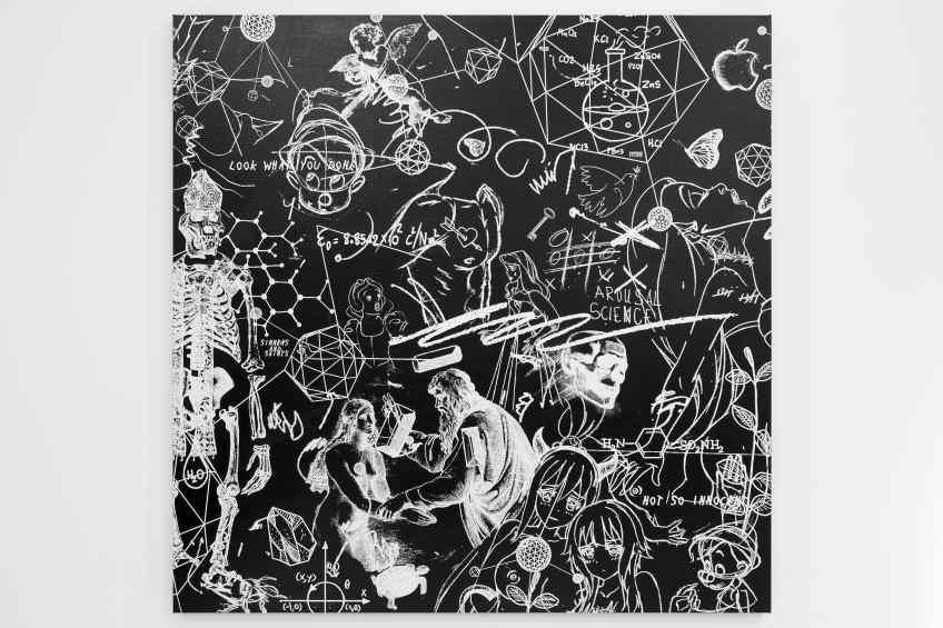Sinners and Saints (black/white), 2017 by Joseph Klibansky