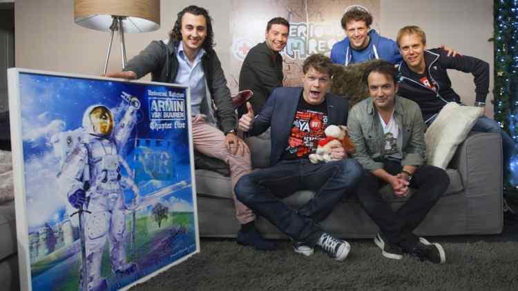 Radio 3FM Serious Request - Joseph Klibansky & Armin van Buuren Auction Artwork for Charity