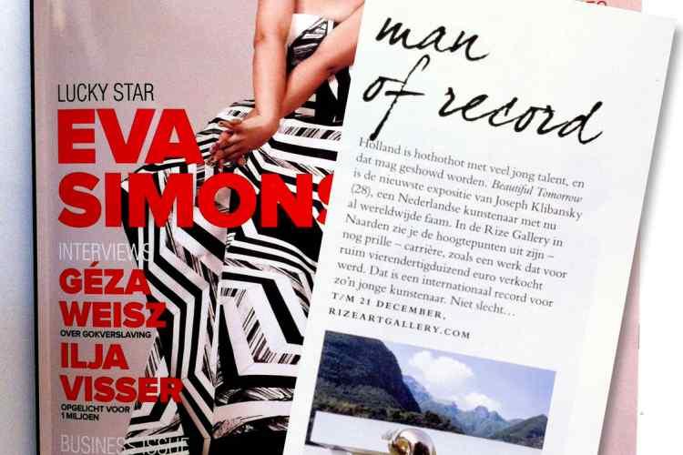 Jackie Magazine Nov/Dec 2012