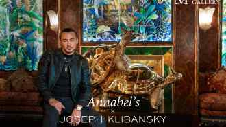 Video Walkthrough: Annabel's Mayfair London shows works by Joseph Klibansky