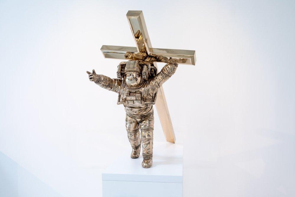 leap of faith bronze 2016 artworks joseph klibansky