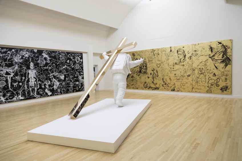 Leap of Faith (bronze), 2015 by Joseph Klibansky