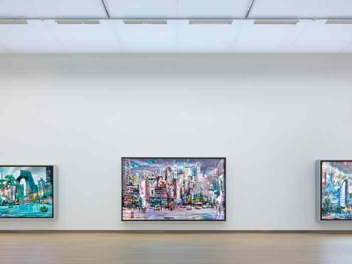 Stedelijk view - Beautiful Connections, 2011 by Joseph Klibansky