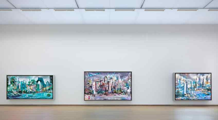 3 view - Beautiful Connections, 2011 by Joseph Klibansky