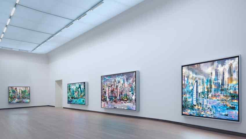 Angle view - Beautiful Connections, 2011 by Joseph Klibansky