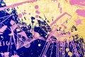 All of Me (ultramarine/pink, gold splash), 2021 by Joseph Klibansky