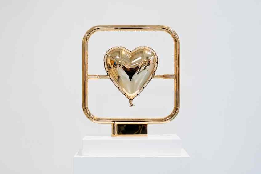 Elements of Love (polished bronze), 2018 by Joseph Klibansky
