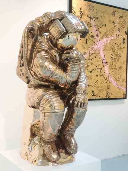 Large Thinker - The Thinker (bronze), 2018 by Joseph Klibansky