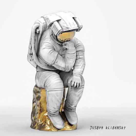 The Thinker (bronze), 2017 by Joseph Klibansky