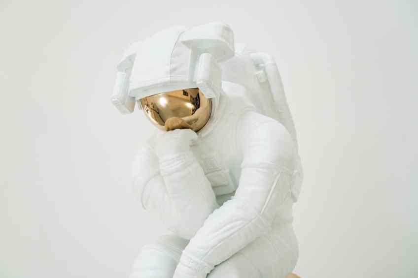 The Thinker (bronze),  by Joseph Klibansky