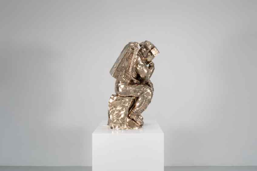 The Thinker (bronze), 2018 by Joseph Klibansky