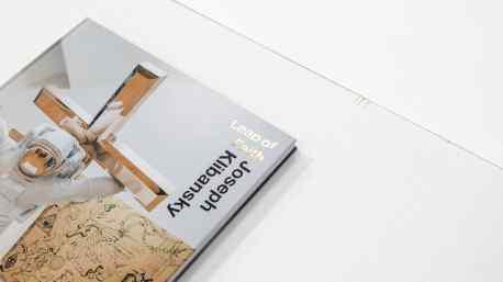 "Book of ""Leap of Faith"" exhibition published by Museum de Fundatie"