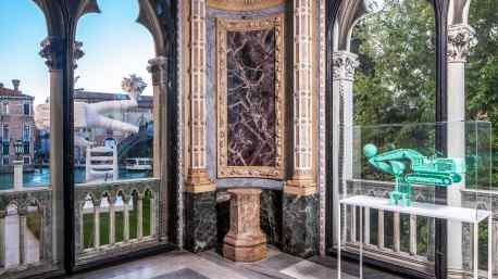 """""""Beautiful Tomorrow"""" by Joseph Klibansky exhibition at Palazzo Cavalli-Franchetti, Venice"""