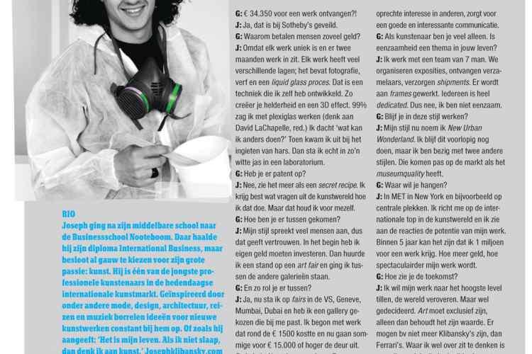 Nobiles Magazine interview
