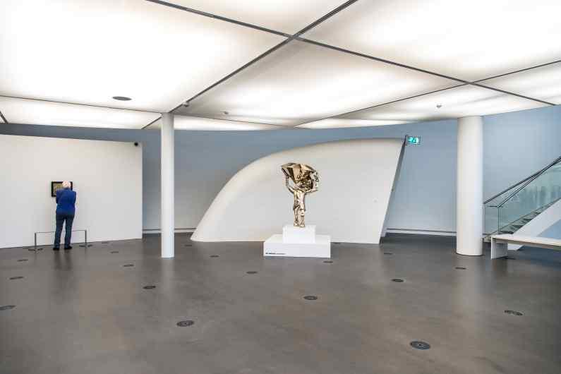 Reflections of Truth II (polished bronze), 2016 by Joseph Klibansky