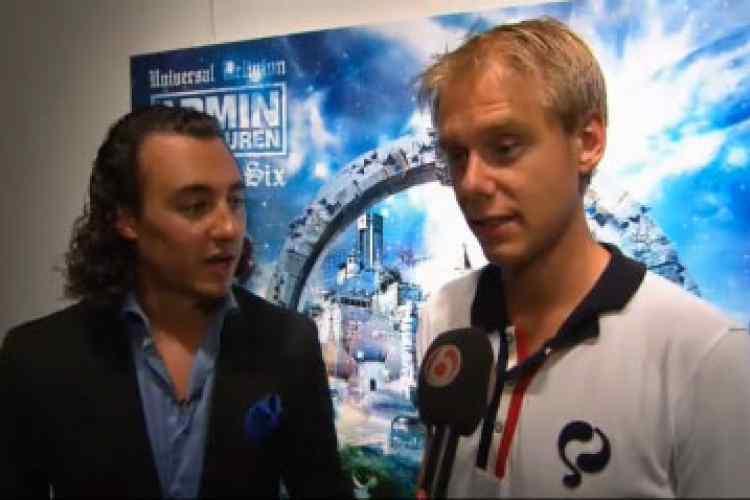 SBS6 ShowNieuws - Armin werkt weer met Joseph Klibansky