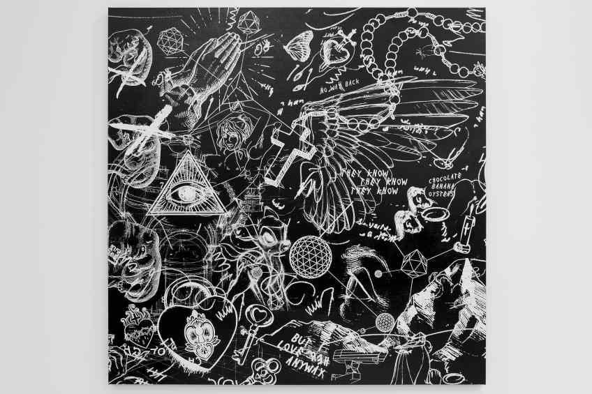 I Love Her Anyway (black/white), 2017 by Joseph Klibansky