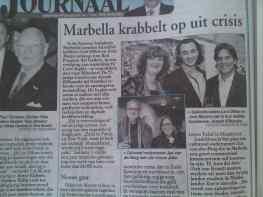 De Telegraaf - Marbella krabbelt op uit crisis