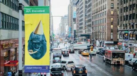 Big Bang wins 1st Prize Garment District Art Festival, New York City, USA