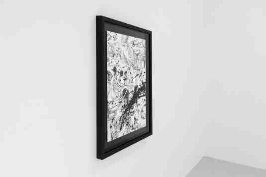 Caught Up In A Dream (edition, white/black, diamond dust), 2019 by Joseph Klibansky