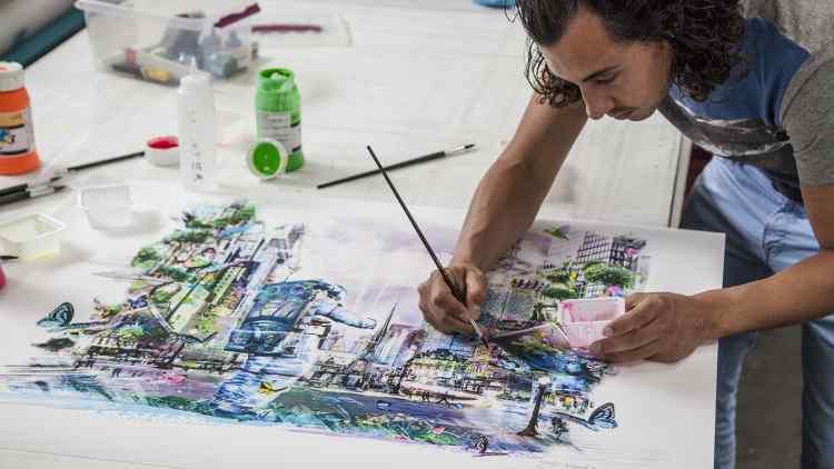 Joseph reveals cover artwork for Armin van Buuren UR7