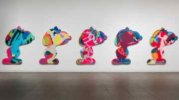 Pharrell Williams Interviews David Salle & KAWS