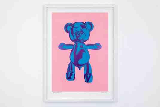 Strawberry Blueberry - Bare Hug, 2019 by Joseph Klibansky