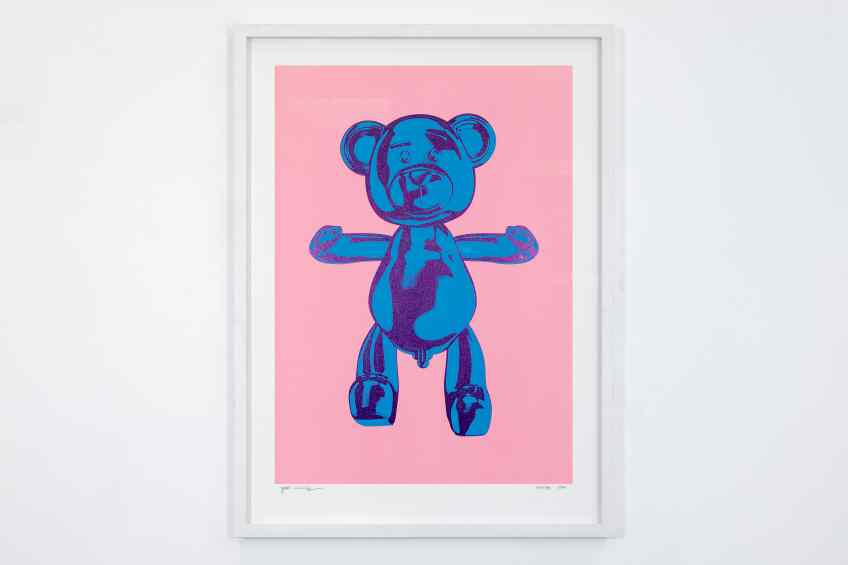 Strawberry Blueberry - Bare Hug, 2019 by Joseph Klibansky
