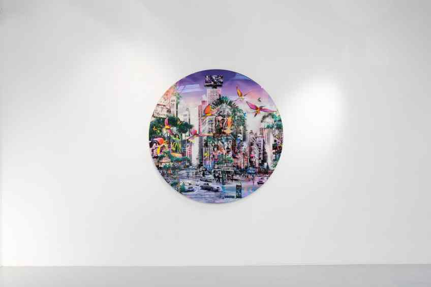 Neon Jungle, 2014 by Joseph Klibansky