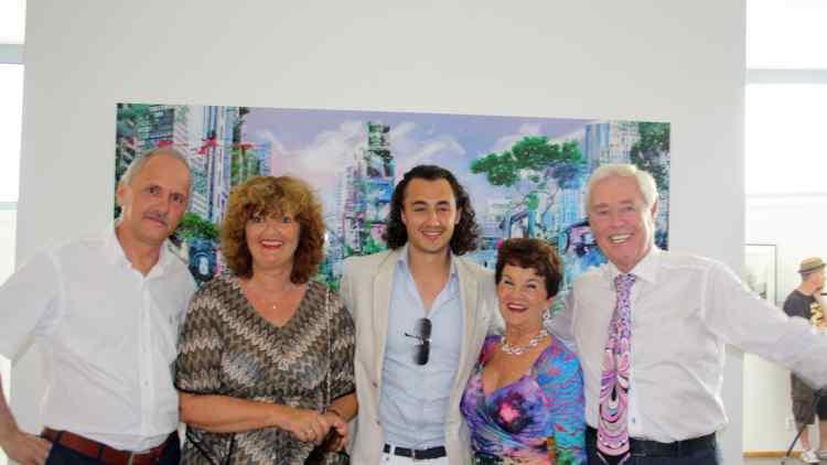 Danubiana Meulensteen Art Museum Acquires 'Garden of Evolution' by Joseph Klibansky