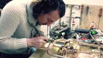 Creation of Joseph Klibansky's Elements of Life Bronze Sculpture