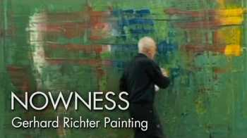 Gerhard Richter Painting: watch the master artist at work - NOWNESS