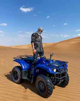 Today I could check one thing off my bucket list.. driving in the desert 🌵 with a quad..is hands down one of the coolest things I have done 🐫 feeling blessed 🙏🏽