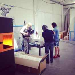 Today we have some special guests in the #art #studio…A TV crew !