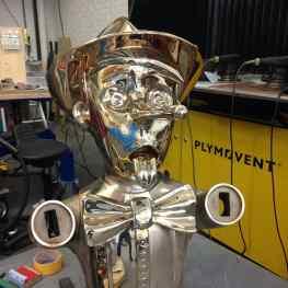 -Reflections of Truth- 130cm tall in polished bronze is starting to look amazing! Just another few hundred hours of welding, grinding and polishing 😁 #klibansky #josephklibansky #beautiful #modernart #contemporaryart  #sculpture #Art #art #artwork #artist #artgallery #newartwork #artfairnyc #artnews #artinfo #jeffkoons #color #gagosian #love #beautiful #follow #fashion
