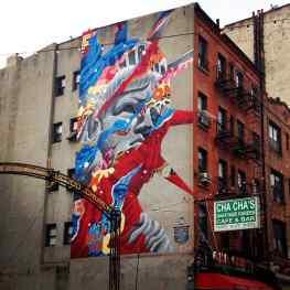 Love this mural at Little Italy !#love #art #klibansky #josephklibansky #gallery #nyc #newyork